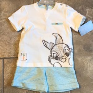 🐰 Disney Thumper two piece outfit 🧸